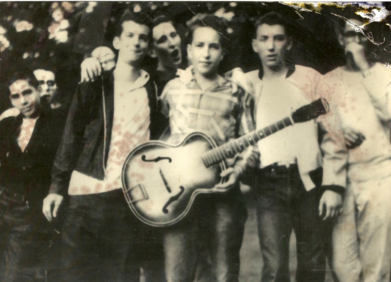 Bob Dylan at Herzl Camp ca. 1957 Photo Source: Herzl Camp