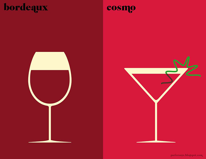 Bordeaux and Cosmo