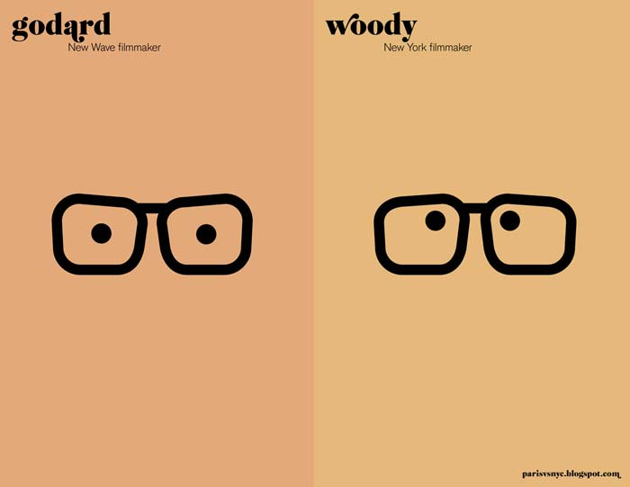 Godard and Woody