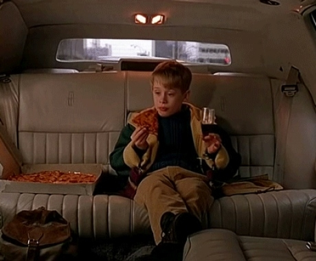 Home Alone Pizza Limo