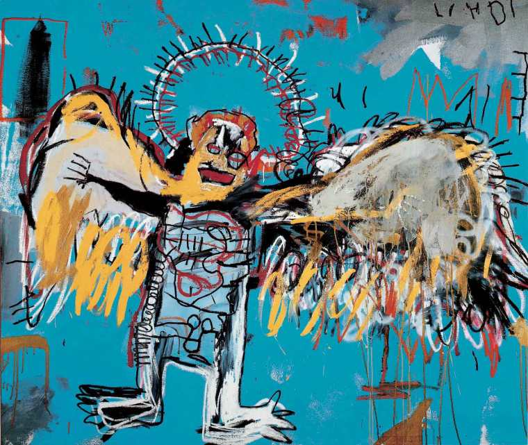 Jean-Michel-Basquiat-Untitled-Fallen-Angel