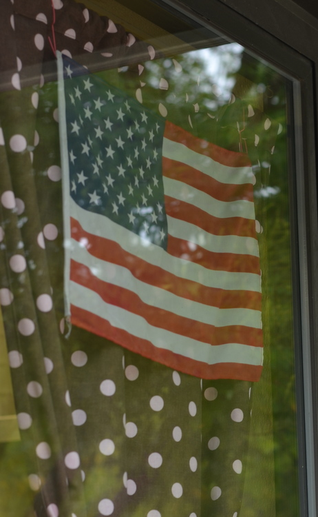 Polka Dots and Flags