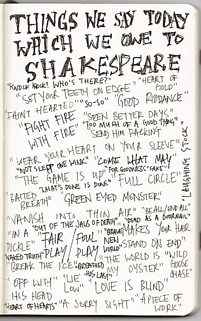 Things We Say Today Because of Shakespeare
