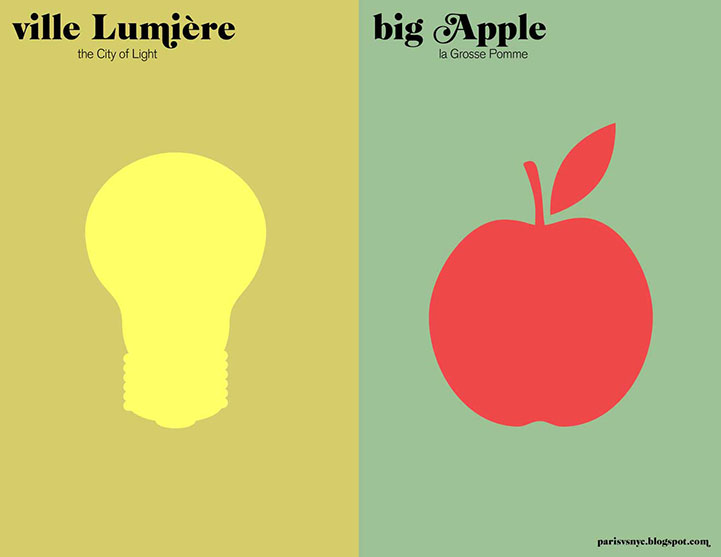 Ville Lumiere and Big Apple