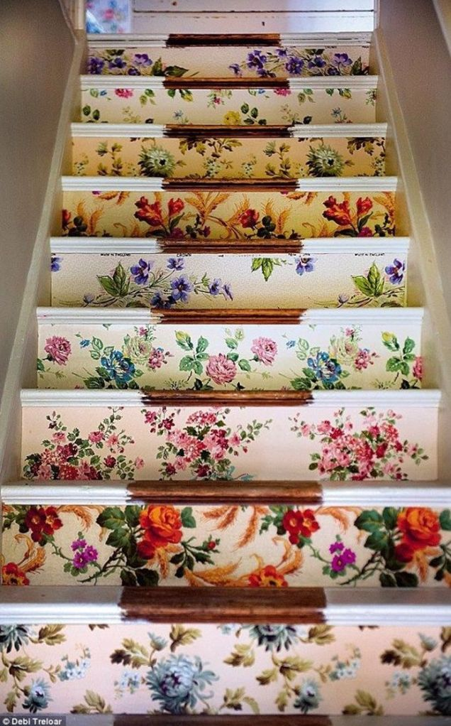 Floral Staircase