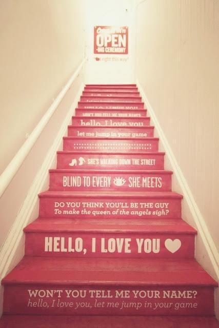 I Love You Staircase