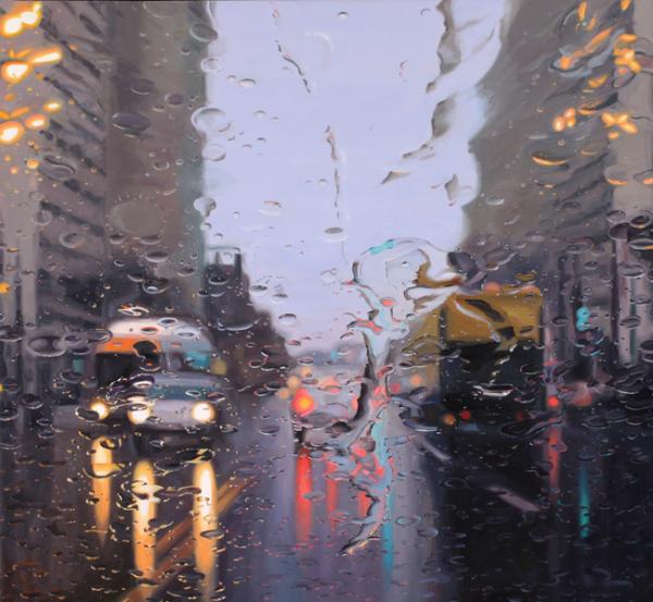 Driving in Rain 1