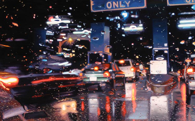 Driving in Rain 8